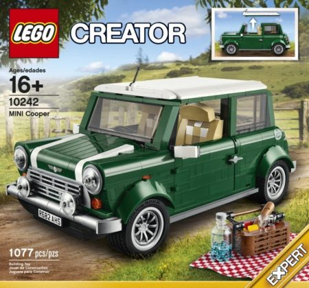 LEGO 10242 MINI COOPER MK VII CREATOR (damaged box)