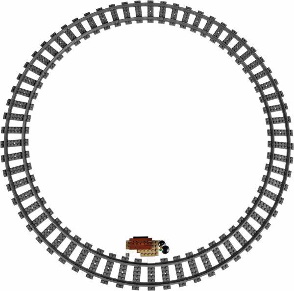 LEGO 10254 WINTER HOLIDAY TRAIN CREATOR