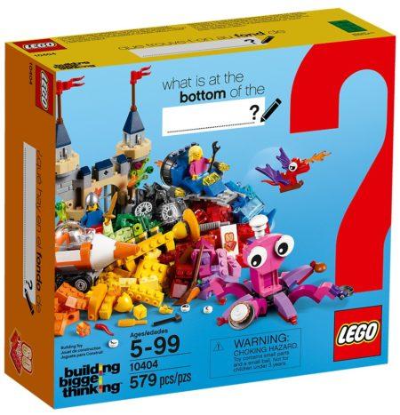 LEGO 10404 OCEANS BOTTOM BRICKS & MORE CLASSIC