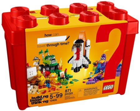 LEGO 10405 MISSION TO MARS BRICKS & MORE CLASSIC (871 PCS)