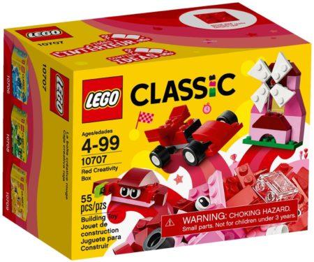 LEGO 10707 RED CREATIVITY BOX BRICKS & MORE