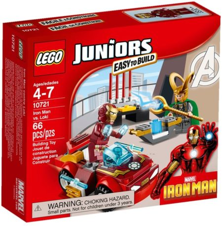 LEGO 10721 IRON MAN vs LOKI JUNIORS