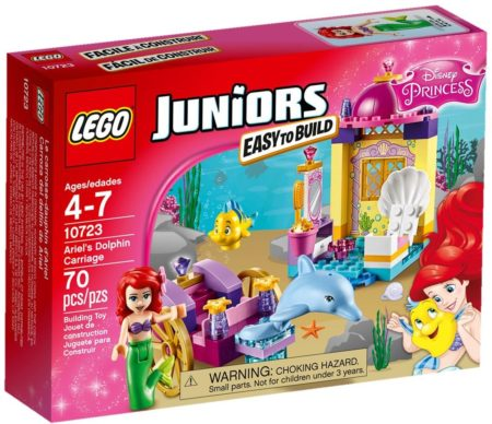 LEGO 10723 ARIEL'S DOLPHIN CARRIAGE JUNIORS