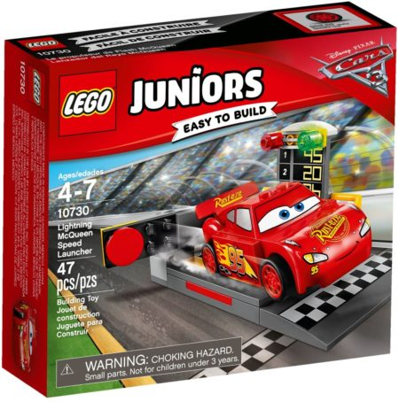 LEGO 10730 LIGHTNING MCQUEEN SPEED LAUNCHER JUNIORS