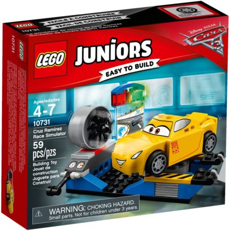 LEGO 10731 CRUZ RAMIREZ RACE SIMULATOR JUNIORS