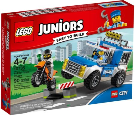 LEGO 10735 POLICE TRUCK CHASE JUNIORS