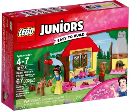LEGO 10738 SNOW WHITES FOREST COTTAGE JUNIORS