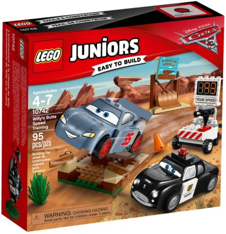 LEGO 10742 WILLYS BUTTE SPEED TRAINING JUNIORS