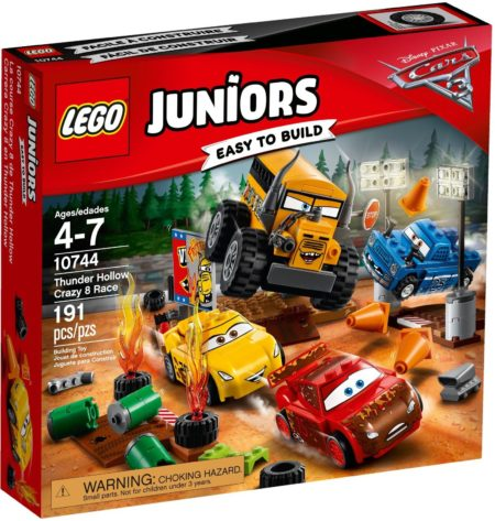 LEGO 10744 THUNDER HOLLOW CRAZY 8 RACE JUNIORS