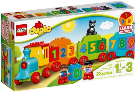 LEGO 10847 MY FIRST NUMBER TRAIN 2017 DUPLO
