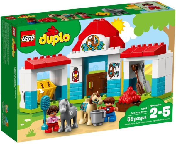 LEGO 10868 FARM PONY RIDE DUPLO