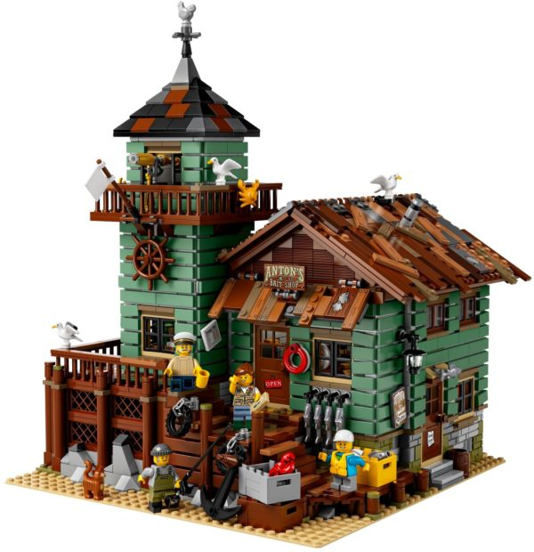 LEGO 21310 OLD FISHING STORE Hard To Find