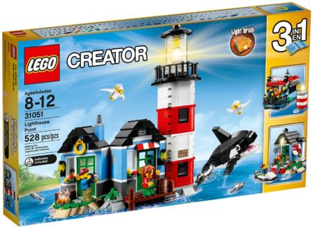 LEGO 31051 LIGHTHOUSE POINT CREATOR