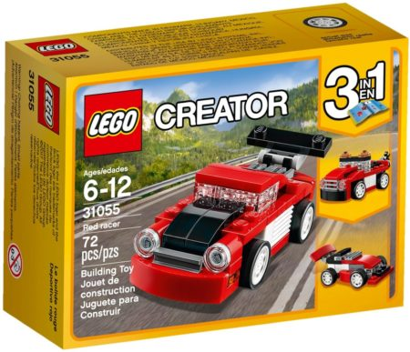 LEGO 31055 RED RACER CREATOR