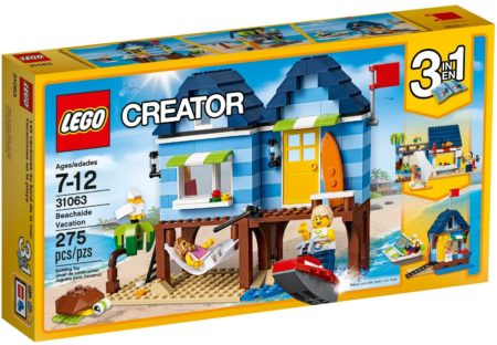 LEGO 31063 BEACHSIDE VACATION CREATOR