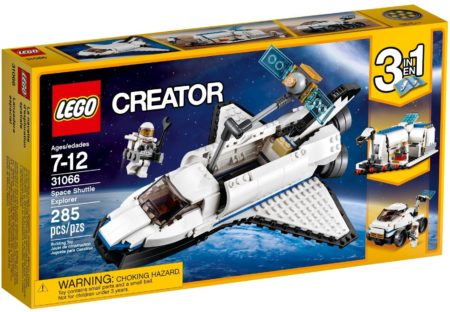 LEGO 31066 SPACE SHUTTLE EXPLORER CREATOR