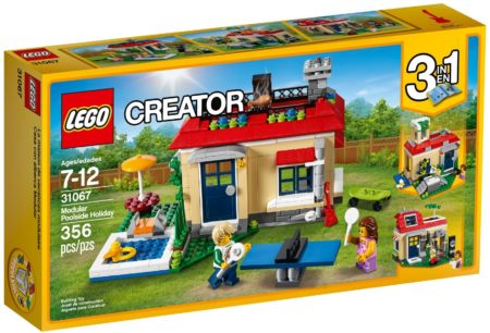 LEGO 31067 MODULAR POOLSIDE HOLIDAY CREATOR
