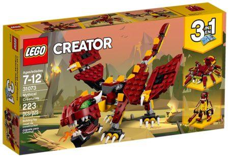 LEGO 31073 MYTHICAL CREATURES CREATOR