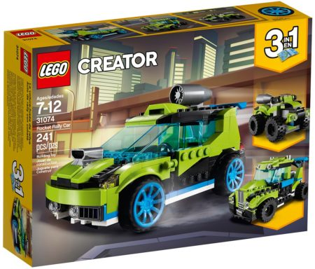 LEGO 31074 ROCKET RALLY CAR CREATOR