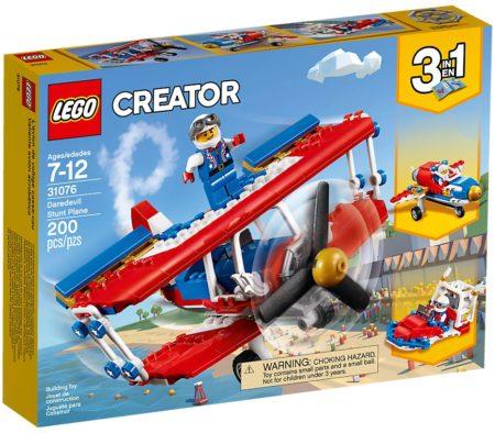 LEGO 31076 DAREDEVIL STUNT PLANE CREATOR