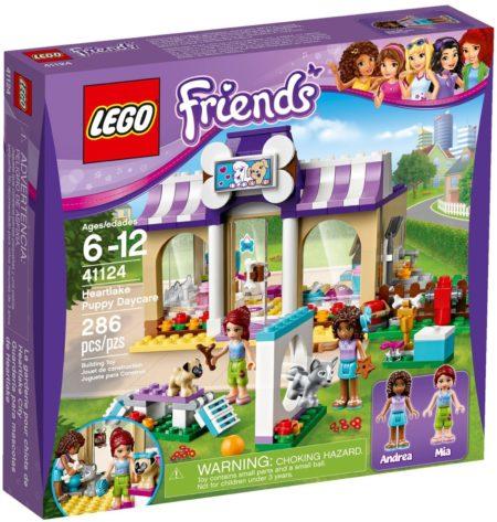 LEGO 41124 HEARTLAKE PUPPY DAYCARE FRIENDS