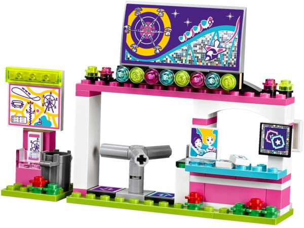 LEGO 41130 AMUSEMENT PARK ROLLER COASTER FRIENDS