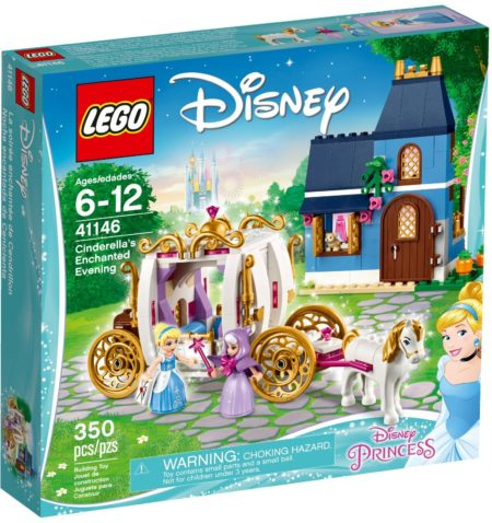 LEGO 41146 CINDERELLAS ENCHANTED EVENING DISNEY PRINCESS
