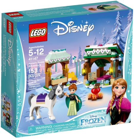 LEGO 41147 ANNA'S SNOW ADVENTURE DISNEY PRINCESS
