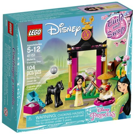 LEGO 41151 MULANS TRAINING DAY DISNEY PRINCESS