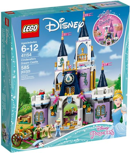 LEGO 41154 CINDERELLAS DREAM CASTLE DISNEY PRINCESS