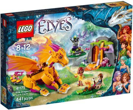 LEGO 41175 FIRE DRAGON'S LAVA CAVE ELVES