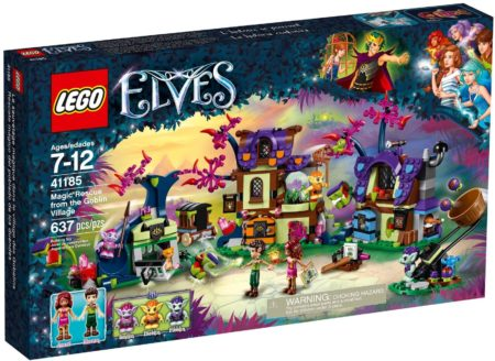 LEGO 41185 MAGIC RESCUE FROM THE GOBLIN VILLAGE ELVES