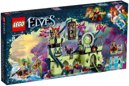 LEGO 41188 BREAKOUT FROM THE GOBLIN KINGS FORTRESS ELVES