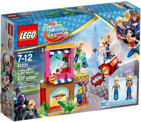 LEGO 41231 HARLEY QUINN TO THE RESCUE DC SUPER HERO GIRLS