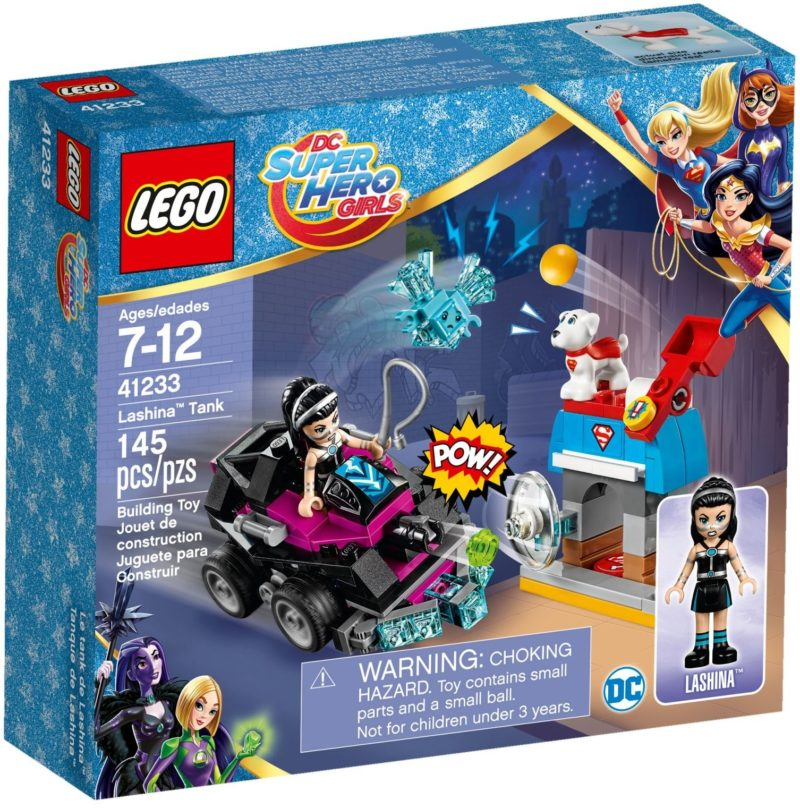 LEGO 41233 LASHINA TANK DC SUPER HERO GIRLS