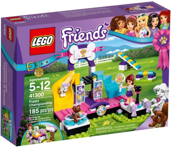 LEGO 41300 PUPPY CHAMPIONSHIP FRIENDS