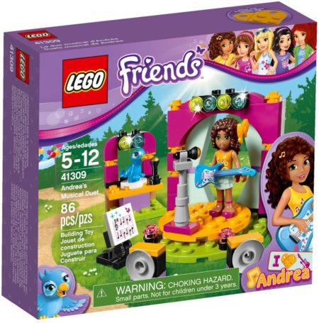 LEGO 41309 ANDREA'S MUSICAL DUET FRIENDS