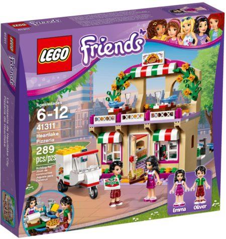 LEGO 41311 HEARTLAKE PIZZERIA FRIENDS