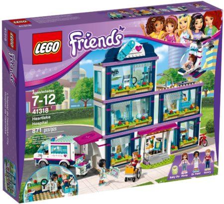 LEGO 41318 HEARTLAKE HOSPITAL FRIENDS