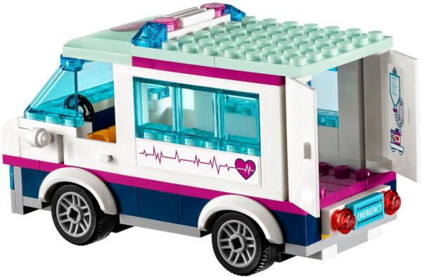 LEGO 41318 HEARTLAKE HOSPITAL FRIENDS