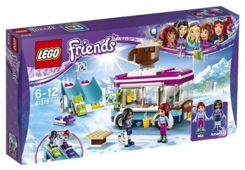 LEGO 41319 SNOW RESORT HOT CHOC VAN FRIENDS