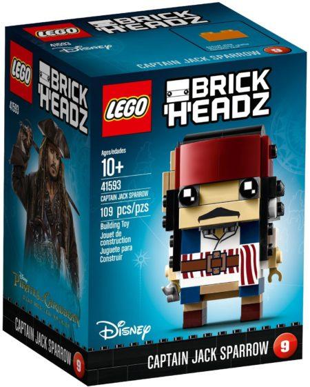 LEGO 41593 CAPTAIN JACK SPARROW BRICKHEADZ