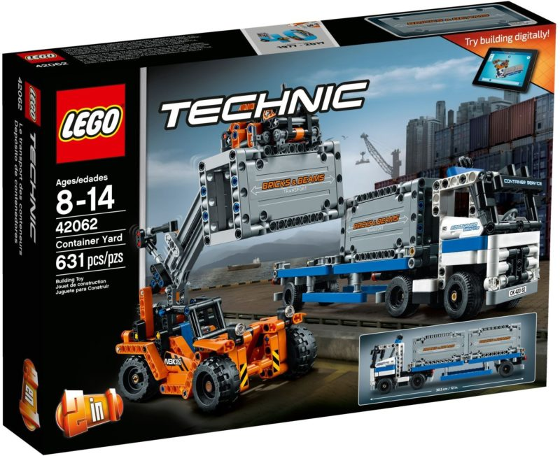 LEGO 42062 CONTAINER YARD TECHNIC