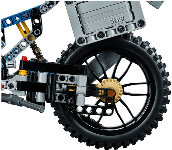 LEGO 42063 BMW R 1200 GS ADVENTURE TECHNIC