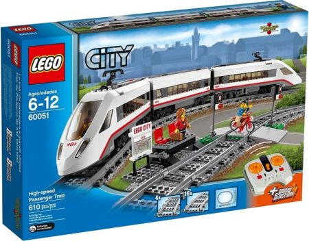 LEGO 60051 HIGH-SPEED PASSENGER TRAIN CITY