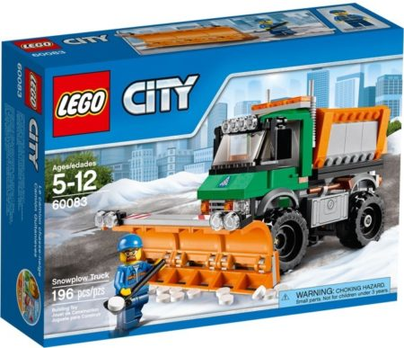 LEGO 60083 SNOWPLOW TRUCK CITY
