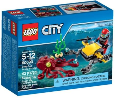 LEGO 60090 DEEP SEA SCUBA SCOOTER CITY