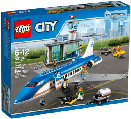 LEGO 60104 AIRPORT PASSENGER TERMINAL CITY