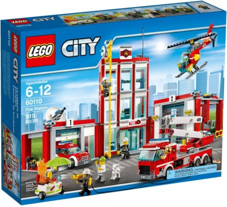 LEGO 60110 FIRE STATION CITY