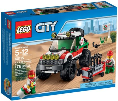LEGO 60115 4X4 OFF ROADER CITY